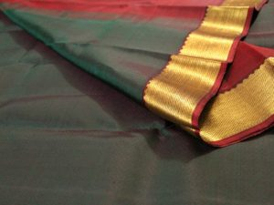 Evergreen Jacquard Pure Kanchipuram Silk